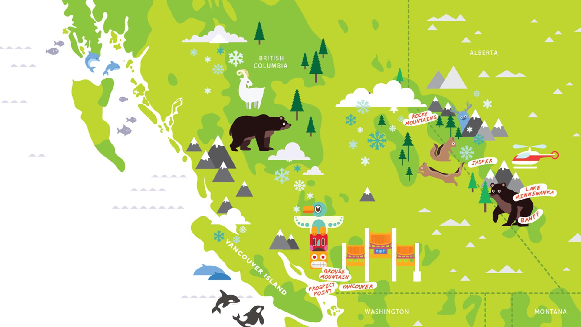 Michelle Hird Map Design