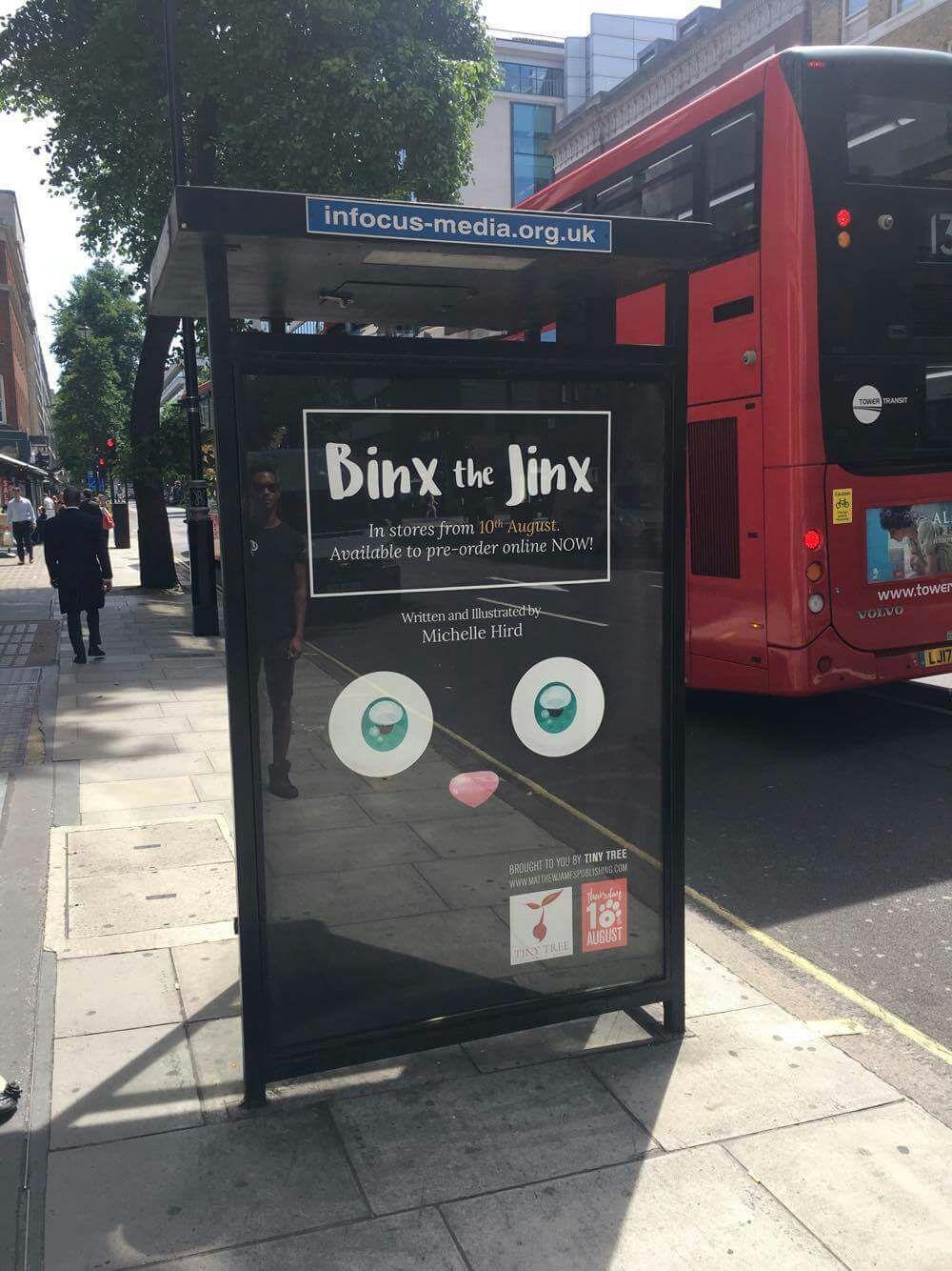 Binx on Baker Street